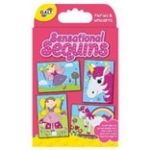 ACTIVITY PACK - SENSATIONAL SEQUINS - FAIRIES AND UNICORNS