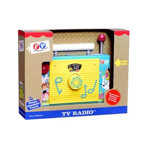 FISHER PRICE RADIO OUT17