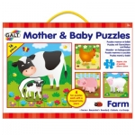 MOTHER  BABY PUZZELS - BOERDERIJ OUT19