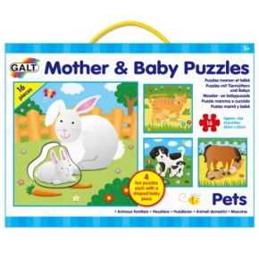 MOTHER  BABY PUZZELS - HUISDIEREN OUT19