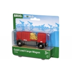 BRIO - GOLD LOAD CARGO WAGON