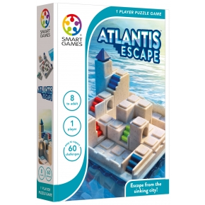 SMART - SMARTGAMES - ATLANTIS ESCAPE - 60 OPDRACHTEN