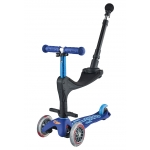 STEP MINI DELUXE 3 IN 1 BLAUW MET PUSHBAR
