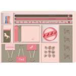 STATIONERY SET PAARDENVRIENDEN