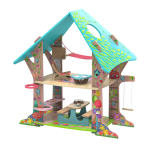 KRUSELINGS (KATHE KRUSE) -  MAGICAL FOREST CLUBHOUSE