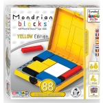 AH!HA GAMES - MONDRIAN BLOCKS - GELE EDITIE